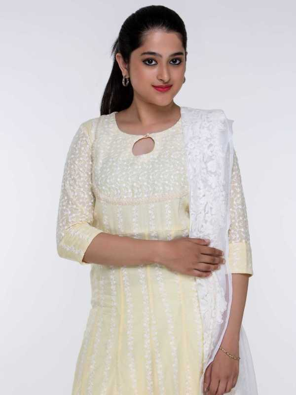 Cotton Chikankari Tunic