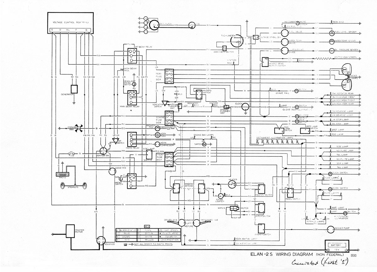 elan z100 wiring diagram