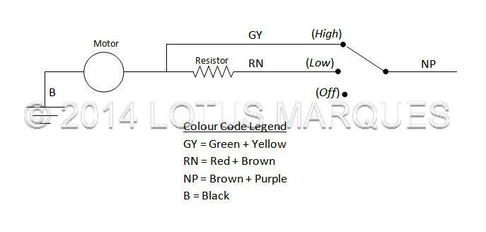 Ballast Resistor Wiring Lotus Elan 2 Heater Motor And Ballast Resistor Wiring