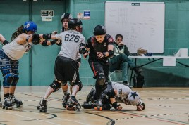 Lotus Photography Bournemouth Dorset Knobs Roller Derby Sports Phtoography 231