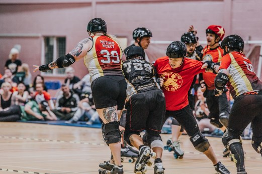 Lotus Photography Bournemouth Dorset Knobs Roller Derby Sports Phtoography 348