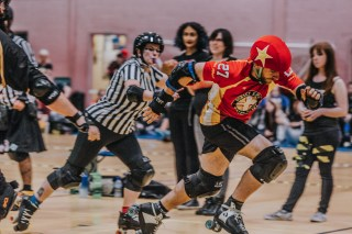 Lotus Photography Bournemouth Dorset Knobs Roller Derby Sports Phtoography 354