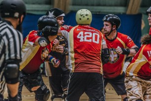 Lotus Photography Bournemouth Dorset Knobs Roller Derby Sports Phtoography 413