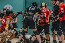 Lotus Photography Bournemouth Dorset Knobs Roller Derby Sports Phtoography 426