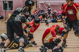 Lotus Photography Bournemouth Dorset Knobs Roller Derby Sports Phtoography 454