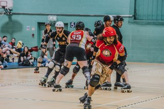 Lotus Photography Bournemouth Dorset Knobs Roller Derby Sports Phtoography 459