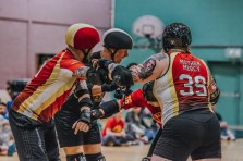 Lotus Photography Bournemouth Dorset Knobs Roller Derby Sports Phtoography 466