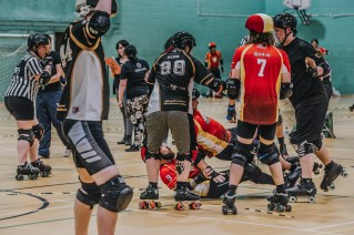 Lotus Photography Bournemouth Dorset Knobs Roller Derby Sports Phtoography 467