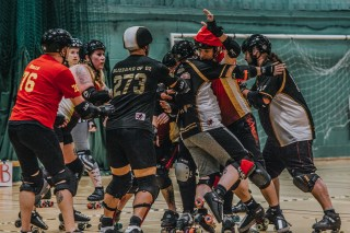 Lotus Photography Bournemouth Dorset Knobs Roller Derby Sports Phtoography 492