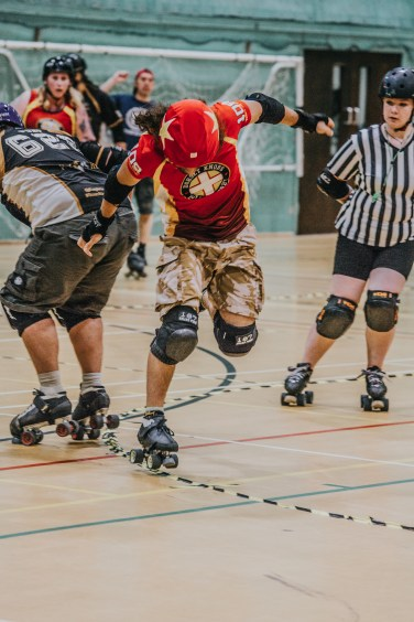 Lotus Photography Bournemouth Dorset Knobs Roller Derby Sports Phtoography 515