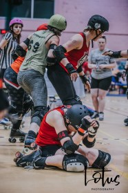 Lotus Phtotography Bournemouth Dorset Roller Girls Roller Derby Sport Photography 101