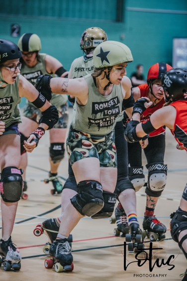 Lotus Phtotography Bournemouth Dorset Roller Girls Roller Derby Sport Photography 102