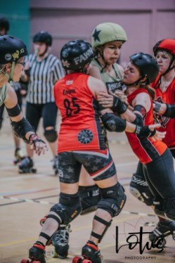 Lotus Phtotography Bournemouth Dorset Roller Girls Roller Derby Sport Photography 103