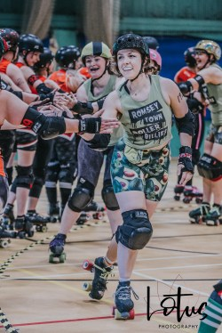 Lotus Phtotography Bournemouth Dorset Roller Girls Roller Derby Sport Photography 11