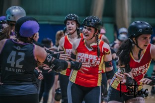 Lotus Phtotography Bournemouth Dorset Roller Girls Roller Derby Sport Photography 127