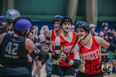 Lotus Phtotography Bournemouth Dorset Roller Girls Roller Derby Sport Photography 130