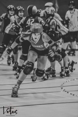 Lotus Phtotography Bournemouth Dorset Roller Girls Roller Derby Sport Photography 134-2