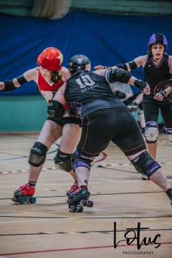 Lotus Phtotography Bournemouth Dorset Roller Girls Roller Derby Sport Photography 138