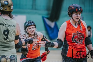 Lotus Phtotography Bournemouth Dorset Roller Girls Roller Derby Sport Photography 14