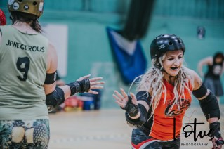 Lotus Phtotography Bournemouth Dorset Roller Girls Roller Derby Sport Photography 15