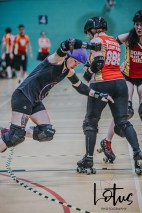 Lotus Phtotography Bournemouth Dorset Roller Girls Roller Derby Sport Photography 161
