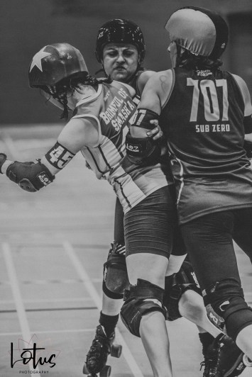 Lotus Phtotography Bournemouth Dorset Roller Girls Roller Derby Sport Photography 164-2