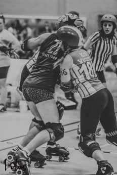 Lotus Phtotography Bournemouth Dorset Roller Girls Roller Derby Sport Photography 166-2