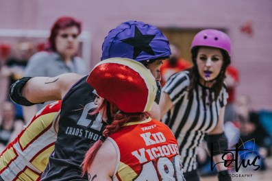 Lotus Phtotography Bournemouth Dorset Roller Girls Roller Derby Sport Photography 167