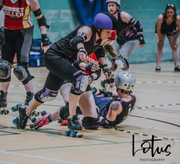 Lotus Phtotography Bournemouth Dorset Roller Girls Roller Derby Sport Photography 176