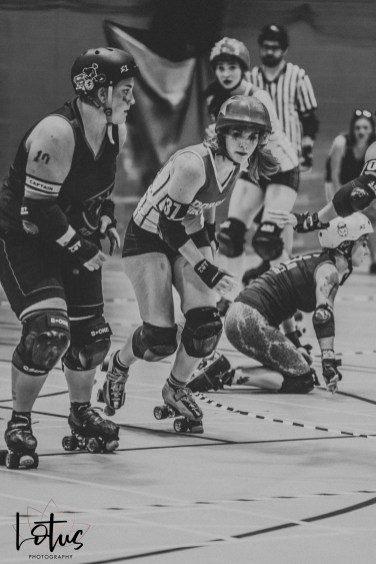 Lotus Phtotography Bournemouth Dorset Roller Girls Roller Derby Sport Photography 177-2