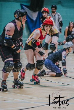 Lotus Phtotography Bournemouth Dorset Roller Girls Roller Derby Sport Photography 177