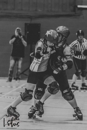 Lotus Phtotography Bournemouth Dorset Roller Girls Roller Derby Sport Photography 183-2