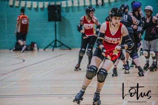 Lotus Phtotography Bournemouth Dorset Roller Girls Roller Derby Sport Photography 185