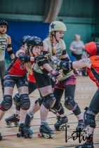 Lotus Phtotography Bournemouth Dorset Roller Girls Roller Derby Sport Photography 19