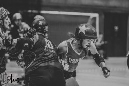 Lotus Phtotography Bournemouth Dorset Roller Girls Roller Derby Sport Photography 193-2
