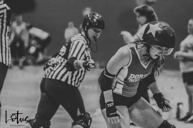 Lotus Phtotography Bournemouth Dorset Roller Girls Roller Derby Sport Photography 195-2