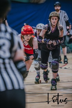 Lotus Phtotography Bournemouth Dorset Roller Girls Roller Derby Sport Photography 199