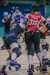 Lotus Phtotography Bournemouth Dorset Roller Girls Roller Derby Sport Photography 202