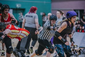Lotus Phtotography Bournemouth Dorset Roller Girls Roller Derby Sport Photography 213