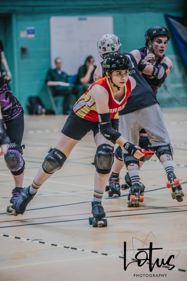 Lotus Phtotography Bournemouth Dorset Roller Girls Roller Derby Sport Photography 219