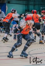 Lotus Phtotography Bournemouth Dorset Roller Girls Roller Derby Sport Photography 22