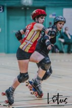 Lotus Phtotography Bournemouth Dorset Roller Girls Roller Derby Sport Photography 225