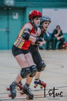 Lotus Phtotography Bournemouth Dorset Roller Girls Roller Derby Sport Photography 226