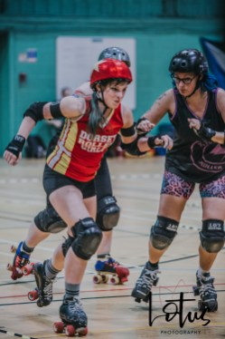 Lotus Phtotography Bournemouth Dorset Roller Girls Roller Derby Sport Photography 227