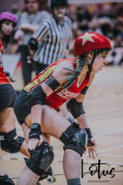 Lotus Phtotography Bournemouth Dorset Roller Girls Roller Derby Sport Photography 228