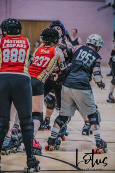 Lotus Phtotography Bournemouth Dorset Roller Girls Roller Derby Sport Photography 235