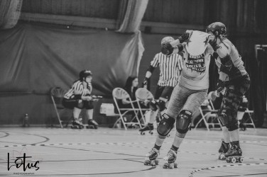 Lotus Phtotography Bournemouth Dorset Roller Girls Roller Derby Sport Photography 24-2
