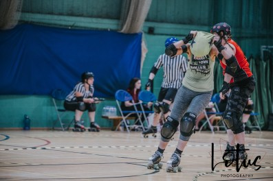 Lotus Phtotography Bournemouth Dorset Roller Girls Roller Derby Sport Photography 24