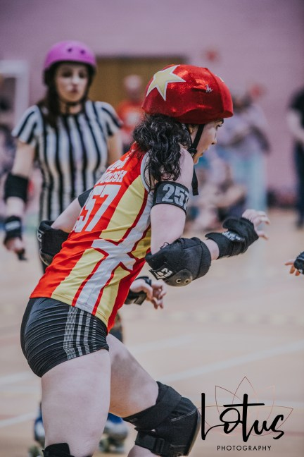 Lotus Phtotography Bournemouth Dorset Roller Girls Roller Derby Sport Photography 241
