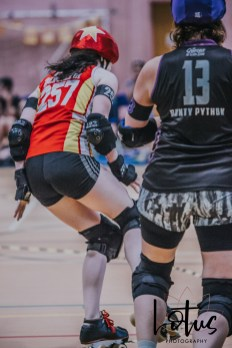 Lotus Phtotography Bournemouth Dorset Roller Girls Roller Derby Sport Photography 242